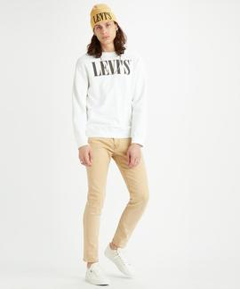 LEVI'S® RELAXED GRAPHIC CREWNECK 90S SERIF LOGO