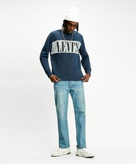 LEVI'S® RELAXED GRAPHIC CREWNECK LOGO COLORBLOCK