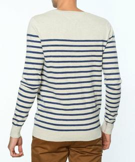 THDM BASIC CN SWEATER OATMEAL