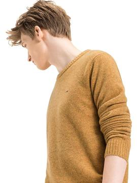 THDM CN BASIC LW CN SWEATER YELLOW