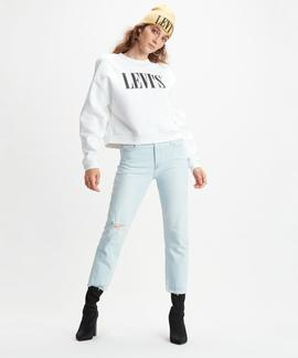 LEVI'S® GRAPHIC DIANA CREWNECK SWEATSHIRT WHITE