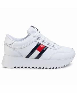 HIGH CLEATED FLAG SNEAKER TWILIGHT WHITE