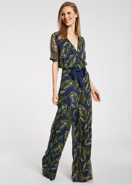 MONO GEORGETTE CON ESTAMPADO TROPICAL