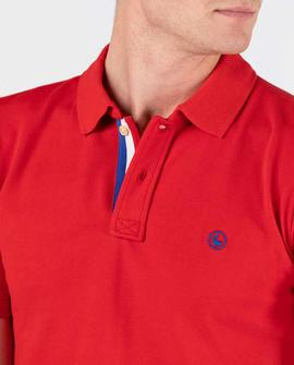 POLO PIQUE SHORT SLEEVE RED