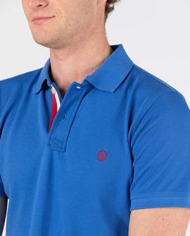 POLO PIQUE SHORT SLEEVE KLEIN BLUE