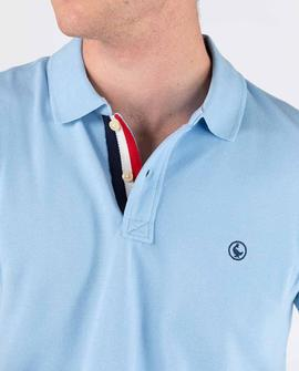 POLO PIQUE SHORT SLEEVE LIGHT BLUE