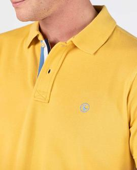 POLO PIQUE SHORT SLEEVE YELLOW