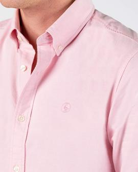 PLAIN OXFORD SHIRT PINK