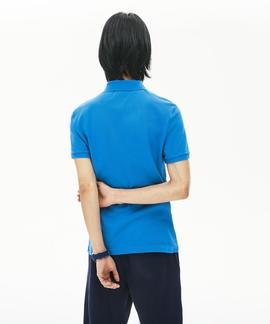 POLO LACOSTE SLIM FIT L61 AZUL ROYAL