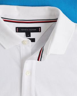 HILFIGER COLORBLOCK REGULAR POLO REGATA BLUE