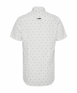 TJM SHORT SLEEVE DOBBY SHIRT WHITE / MULTI
