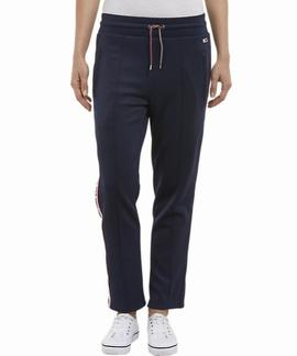 TJW TRACKSUIT PANT SLIM FIT BLACK IRIS
