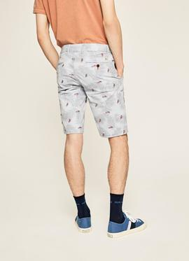 BLACKBURN SHORT EMBRO SLIM FIT 513 SKY