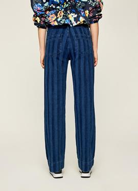 VEGAS HIGH WAIST WIDE LEG 000 DENIM