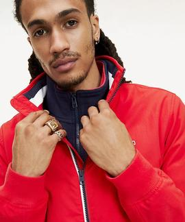 TJM ESSENTIAL BOMBER JACKET RACING RED