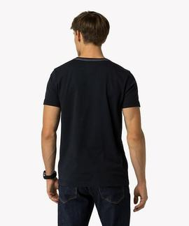 CARL C-NK TEE REGULAR FIT AZUL MARINO