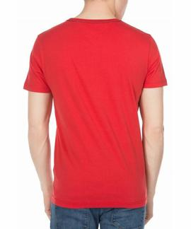 CARL C-NK TEE REGULAR FIT ROJO