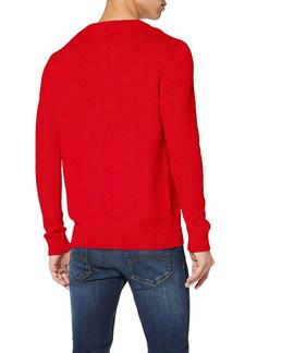 TJM TOMMY CLASSICS SWEATER RACING RED