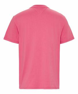 TJM TOMMY FLAG TEE LIGHT CERISE PINK