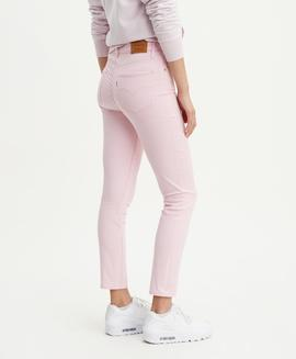 721 HI RISE SKINNY FIT ANKLE REFINED LIGHT PINK