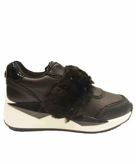 TINSEL 2 ACTIVE LADY LEATHER BLACK