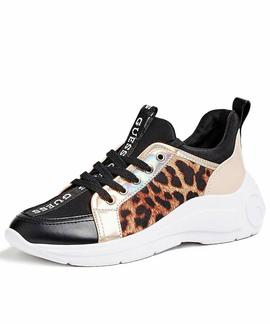 SPEERIT ACTIVE LADY LEATHER LIKE LEOPARD