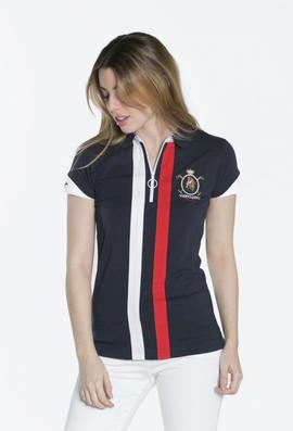 POLO M BANDERA LADIES AZUL MARINO