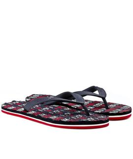 CHANCLAS TOMMY BARNEY 2R MIDNIGHT / TANGO RED