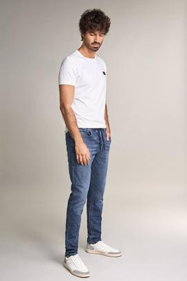 LIMA SLIM FIT LOW WAIST JOGGER DENIM