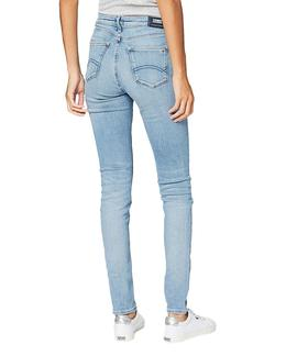 NORA MID RISE SKINNY FIT RZLBS RAZEL LIGHT BLU STR
