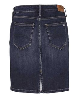CLASSIC DENIM SKIRT KNOX DARK BLUE STRETCH