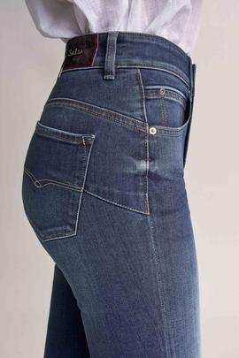 SECRET GLAMOUR SKINNY FIT EN DENIM AZUL