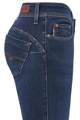 WONDER SKINNY FIT EN DENIM AZUL THERMOLITE