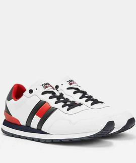 TOMMY JEANS LIFESTYLE LEA RUNNER WHITE