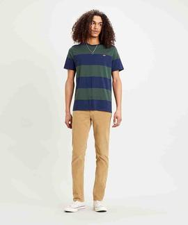 SS ORIGINAL HM TEE RUGBY STRIPE DRESS BLUES