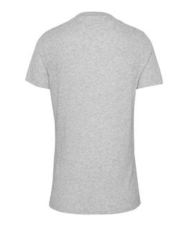 TJM CIRCLE NEW YORK TEE LIGHT GREY HEATER