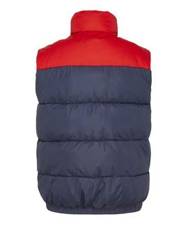 TJM CORP PUFFA VEST TWILIGHT NAVY / MULTI