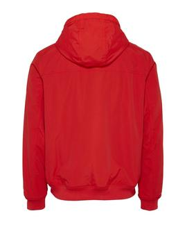TJM PADDED NYLON JACKET DEEP CRIMSON