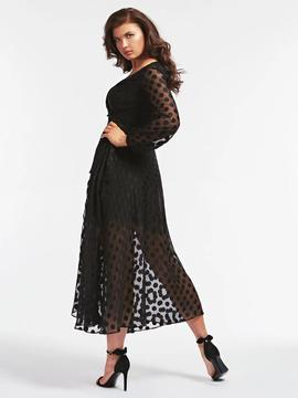BERTHA DRESS JET BLACK