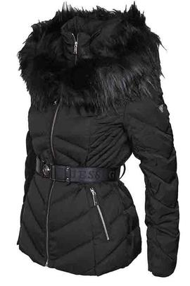 SARA SHORT DOWN JACKET JET BLACK