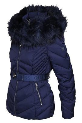 SARA SHORT DOWN JACKET BLUE JAM