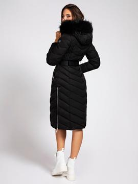 SOFIA LONG JACKET JET BLACK