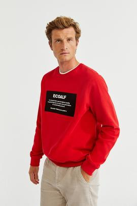 SAN DIEGO BECOUSE PATCHLABEL SWEATSHIRT 259 RED