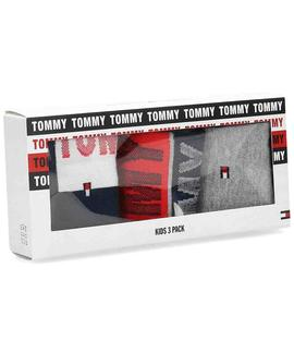 TH KIDS SOCK 3 PACK TOMMY GIFT TOMMY ORIGINAL