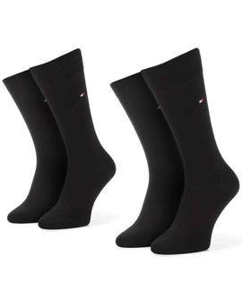 TH MEN SOCK CLASSIC 2 PACK BLACK