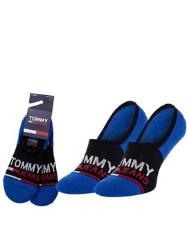 TH UNISEX PIMKIE 2 PACK TOMMY JEANS BLACK