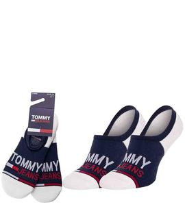 TH UNISEX PIMKIE 2 PACK TOMMY JEANS NAVY