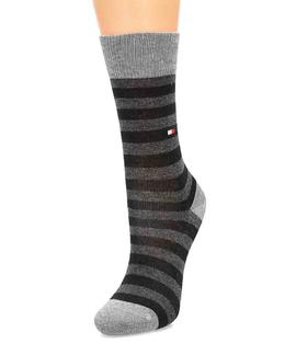 TH KIDS SOCK 2 PACK STARS BLACK