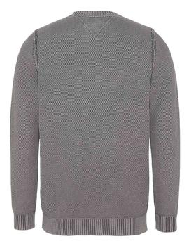 TJM ESSENTIAL WASHED DARK GREY HEATHER
