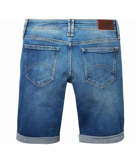CLASSIC DENIM LONGER SHORT